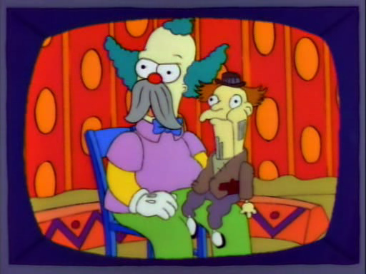 Krusty the ventriloquist