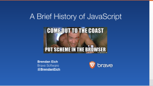 COME OUT TO THE COAST... PUT SCHEME IN THE BROWSER